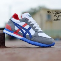 Sepatu Pria Casual Olahraga Asics Onitsuka Tiger Terlaris / Termurah