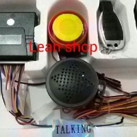 Alarm Talking Remote Motor New Alarm System 2 Speaker Alrm Anti Maling