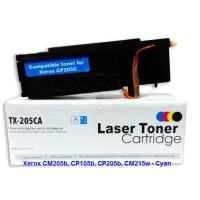 Toner Cartridge Laserjet compatible Xerox CP105b/CP205/CM215W - CYAN