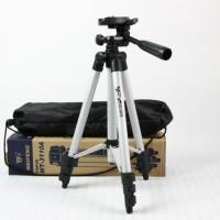 Lensa Pembesar Kamera HP 8X Tele zoom + Weifeng Tripod Panjang 1 meter