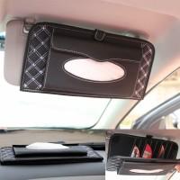 Ekslusif Tissue Box + CD Bag 2in1 Car Visor All In One