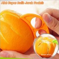 Alat Kupas / Pengupas Kulit Jeruk Praktis (Orange Peeler)