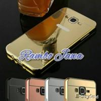harga Bumper Metal Case Miror Case Samsung Galaxy J1 2016 J1 06 Tokopedia.com