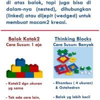 Thinking Blocks Pola Pikir Jadi Canggih - Bukan Lego Monoton