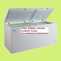 Aqua (Sanyo) Chest Freezer Type AQF 420 (Kapasitas 412Ltr)