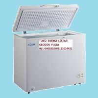 Aqua (Sanyo) Chest Freezer Type AQF 160 (Kapasitas 150ltr)