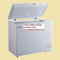 Aqua (Sanyo) Chest Freezer Type AQF 200 (Kapasitas 197Ltr)