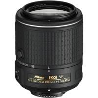 Lensa Nikon afs 55-200mm, af-s 55-200 mm f/4-5.6G ED DX VR II