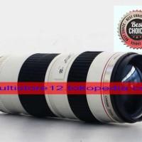 Gelas Lensa Canon 70-200 Hitam / Putih