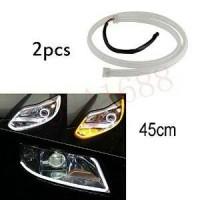 """Lampu DRL Flexible LED """"Osram"""" Alis 45cm 2 Warna"""