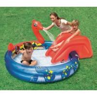 Jual Kolam Renang Anak Perosotan Viking Play Pool Bestway #53033 Murah