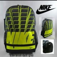 Tas Ransel Nike Brick Dark Grry Free Rain Cover