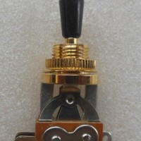 Switch Short Straight Toggle Gold Black