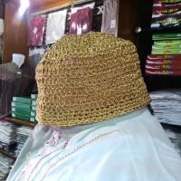 Peci Haji Warna Emas