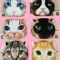 harga Cat Kucing 3d Bantal Lucu Tokopedia.com
