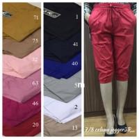 Jual Jogger Pendek 3R Celana Wanita Short Joger Pants Cotton Big Jumbo XXXL Murah