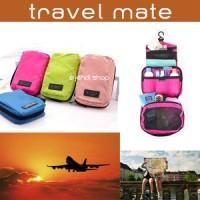TRAVEL MATE / TOILET ORGANIZER / TAS PERALATAN MANDI
