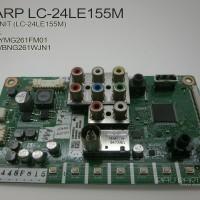 MESIN TV - MAINBOARD LCD TV LED SHARP LC-24LE157I - QKITPG261WJN1