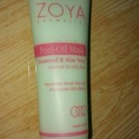 Masker ZOYA Cosmetics Peel-Off Mask Seaweed & Aloe Vera