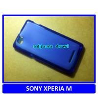 SONY XPERIA M C1904 C1905 C2004 C2005 DUAL SIM SILIKON SOFT CASE BIRU