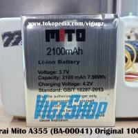 Baterai Mito A355 (Ba-00041) Original 100%