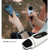 Micro USB & 3.5mm Mini Karaoke Microphone Mic Android Iphone PC Laptop