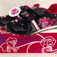 Sepatu anak - My Little Pony - Pinky Pie- black pink (sz.26-30)