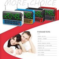 harga speaker jam LED dan alaram Tokopedia.com