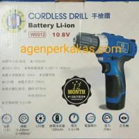 MESIN BOR TANGAN TANPA KABEL / CORDLESS DRILL W.0012