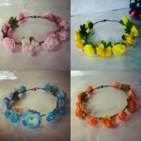 FLOWER CROWN /Mahkota bunga ; (Bandana /Bando) ; Accessories.