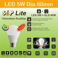 EELIC CAHAYA TERANG BOHLAM LAMPU LED SIP LITE Globe 60mm S-5 Watt