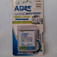 ADSS Samsung Galaxy ACE3 S7270, S 7898 Battery/Baterai Double Power