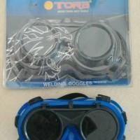 harga Kacamata Las/Welding Goggles Model Bulat Tora Tokopedia.com