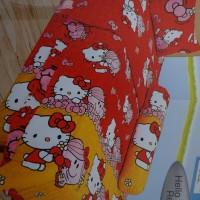 Jual Sprei Lady Rose Disperse 100 Motif Hello Kitty Red Murah
