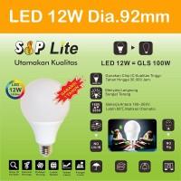 EELIC CAHAYA TERANG BOHLAM LAMPU LED SIP LITE Globe 90mm S-12 Watt