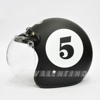 HELM Bogo JPN Number 5 Black Doff