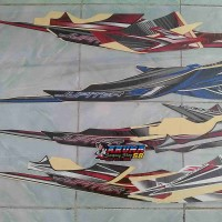 Striping/Sticker Lis Motor Jupiter Z1 2012