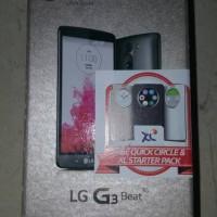 LG G3 BEAT SEGEL RESMI FREE SMARTFLIP ASLI