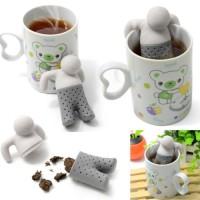 penyaring teh kopi Tea Bag Man saringan coffee alat saring maker