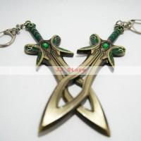 DOTA 2 Keychain / Gantungan Kunci - Butterfly