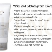 The Face Shop - White Seed Exfoaliating Cleanser