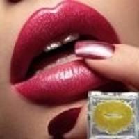 Jual Dijamin Gold Lip Collagen Masker Pelembab Bibir Murah