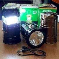Jual Lentera Tarik + Senter - Lentera Solar Charger Power Bank - Lampu LED Murah
