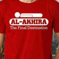 Kaos/T-Shirt/Baju MUSLIM AL AKHIRA