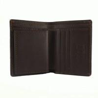 Dot Leathergoods - Leather Wallet Taurus Series - Dark Brown
