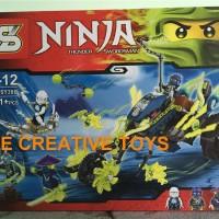 SY Ninjago SY 386 Chain Cycle Ambush