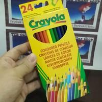 CRAYOLA PENSIL WARNA - 24 WARNA HARGA EKONOMIS