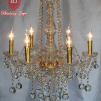 harga Lampu Kristal Bakso Lilin 6 - Gold [free Bohlam Led] Tokopedia.com