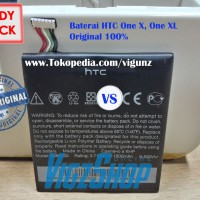 Baterai HTC One X, One XL (BJ83100) Original 100%