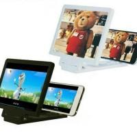 Kaca Alat Pembesar Layar Hp Smartphone 3d Screen Enlarger
